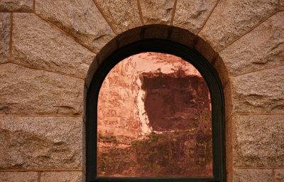 Time tunnel, Old State Capitol, Phoenix, Arizona, 2009