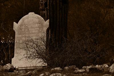 Pioneer Cemetery, Congress, Arizona, 2009