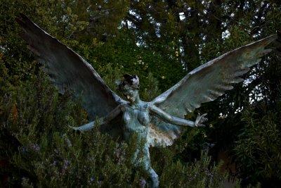 The angel, Bisbee, Arizona, 2009