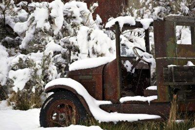 Abandoned truck, Bannack, Montana, 2010