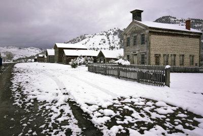 Snowscape, Bannack, Montana, 2010