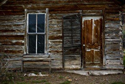 Weathered façade, Bannack, Montana, 2010