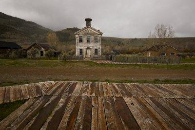 Schoolhouse, Bannack, Montana, 2010