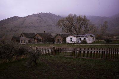 Evening at Bannack, Montana, 2010
