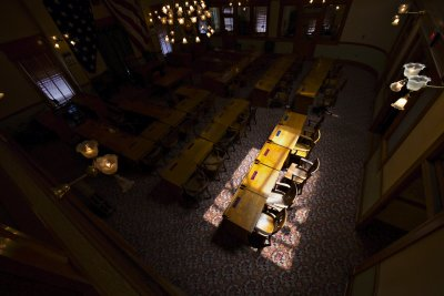 Backbenchers, House Chamber, Old State Capitol, Phoenix, Arizona, 2010