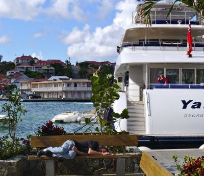 Contrast, St. Barts, French West Indies, 2011