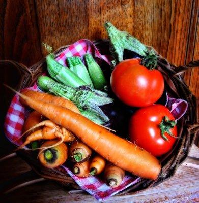 Just vegetables, but MINE!