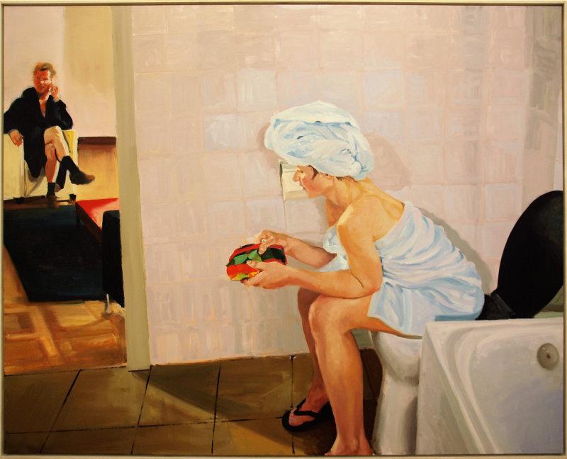 Bathroom. Scene #  4, 2005