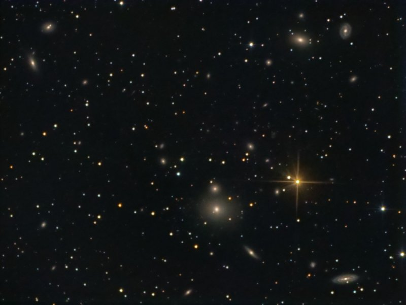 NGC 507 (Arp 229) and Group