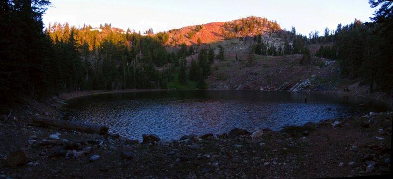 Siphon Lake panorama