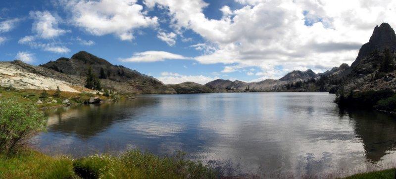 Minaret Lake  Panorama