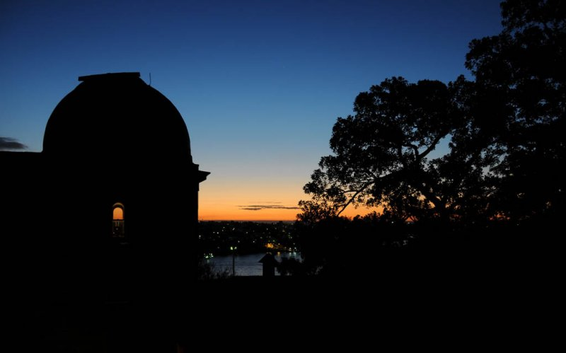 Sunset over Sydney Observatory