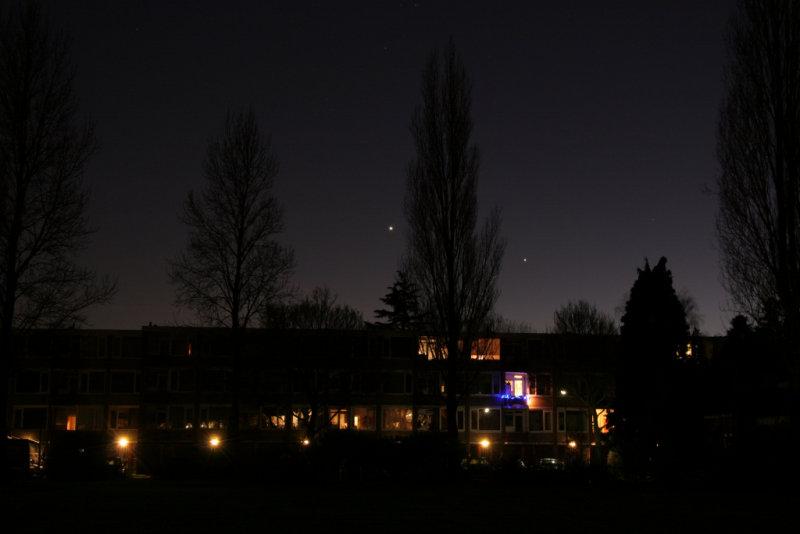 Venus and Jupiter - 7 december 2008