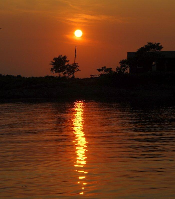 Sunset Casco Bay