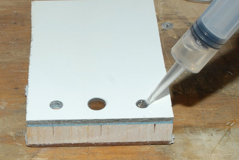 Inject Non-Thickened Epoxy First