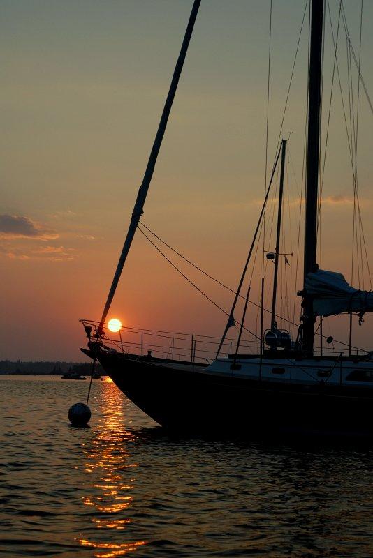 Sunset Over A Hinckley
