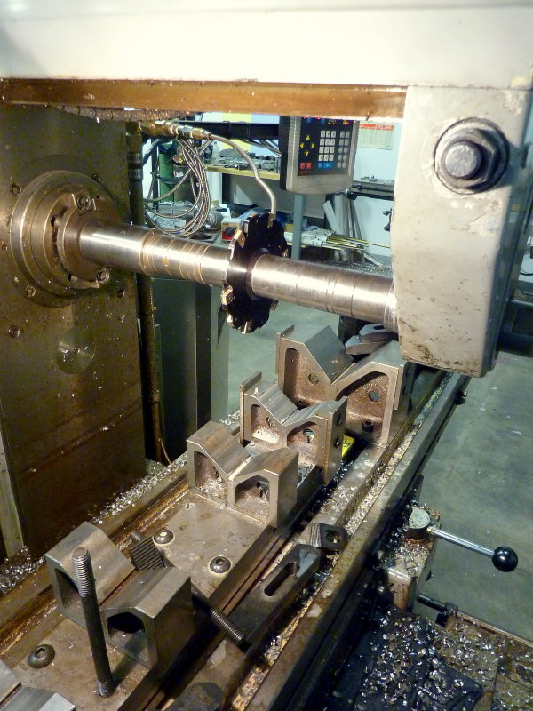Keyway is Cut Into Shaft