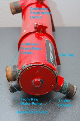 Westerbeke 3 Heat Exchanger