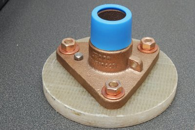 Install Flange or Seacock