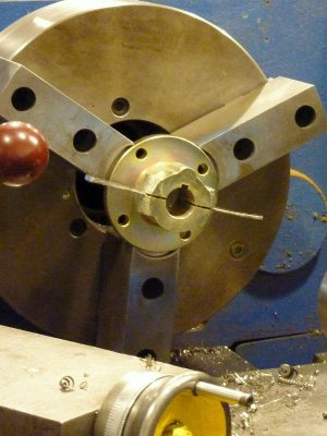 Coupling Surfaces Made Parallel With Shims
