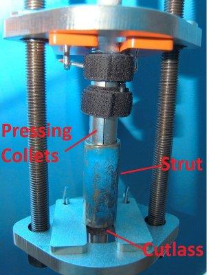 Cutlass Bearing Removal