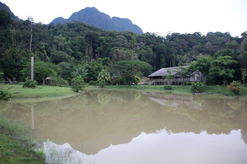 In Sarawak Cultural Village >>