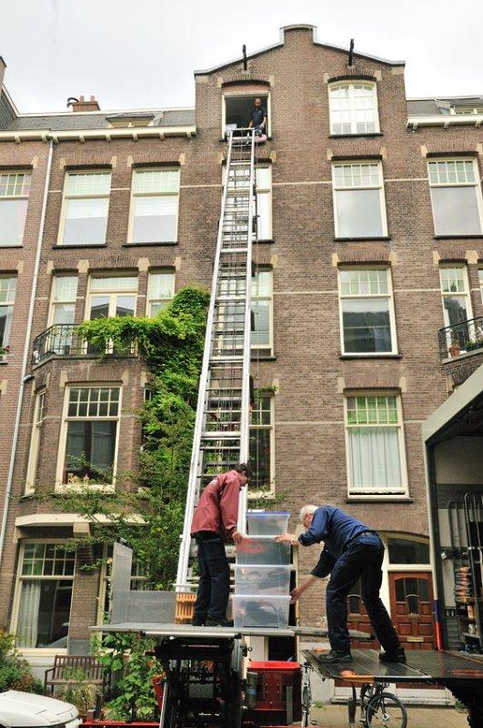 Moving Day - Amsterdam
