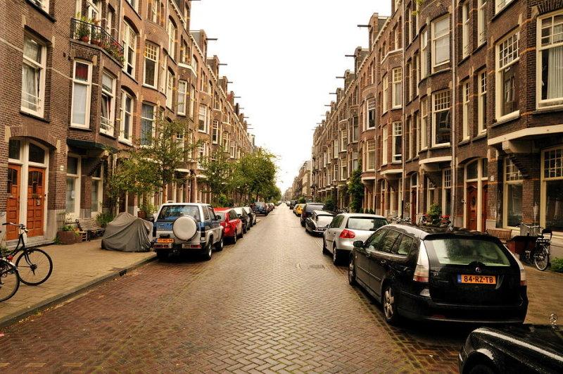 Apartment Row - Amsterdam