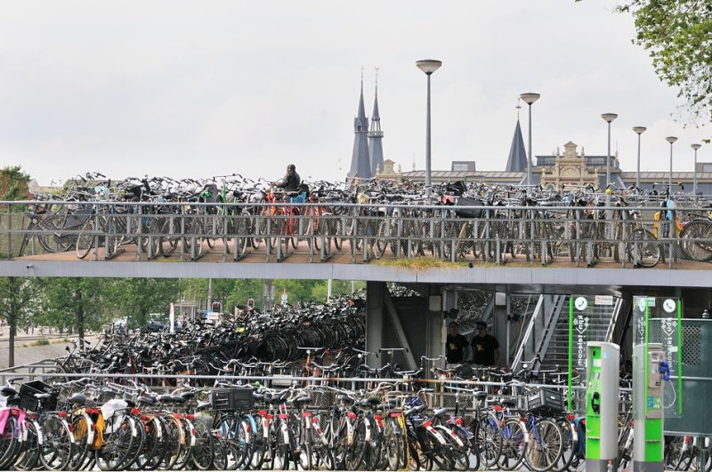 Bicycle Park: Capacity 2500+
