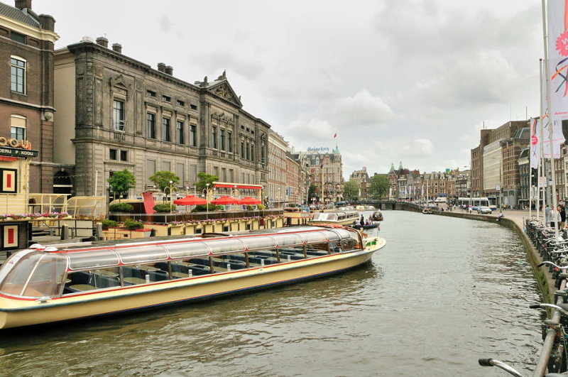 Canal Boat - Amsterdam
