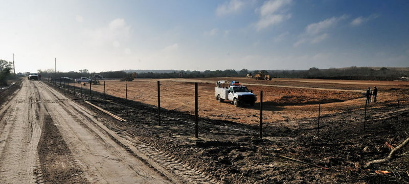 Prepping a drill site - JAN_0158