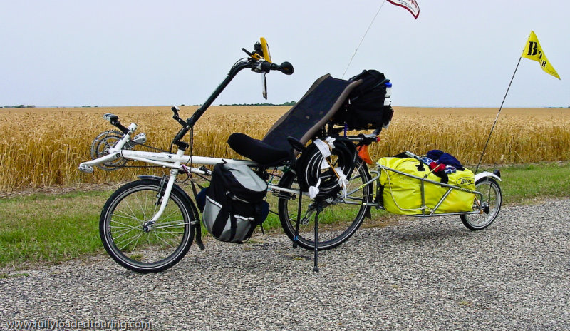 296  Scott - Touring South Dakota - Rans V-Rex touring bike