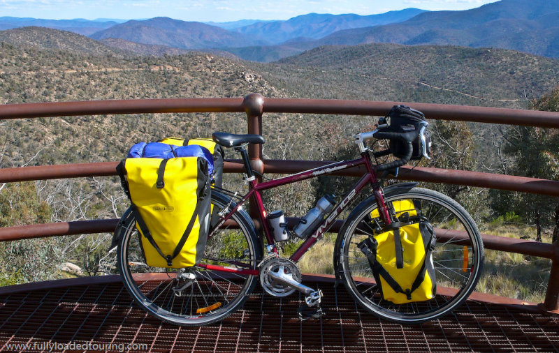303    Chris - Touring Australia - Vivente World Randonneur touring bike
