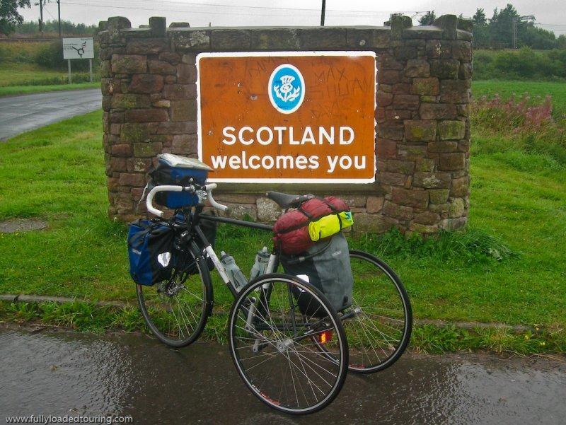 310   Gordon - Touring Scotland - George Longstaff Trike touring trike