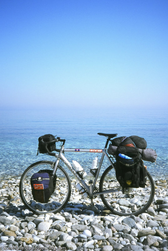 318   Edd - Touring Samos - Cannondale T700 touring bike