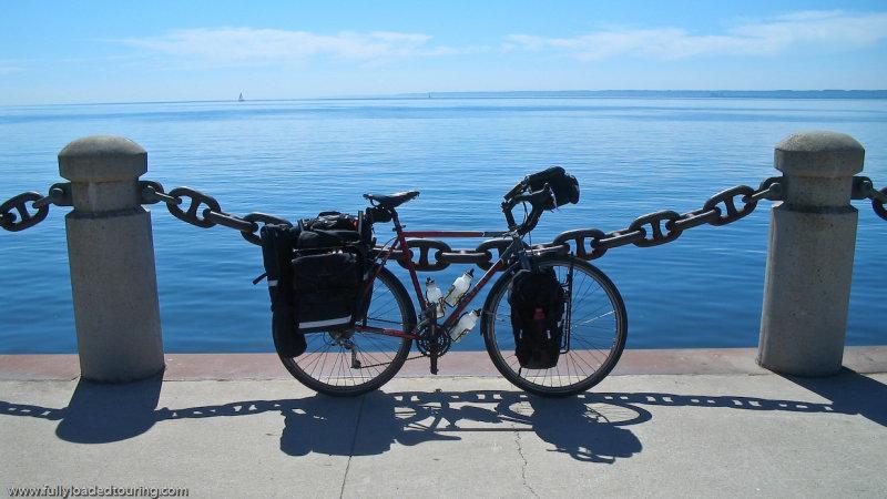 321   Toni - Touring Canada - Escape Eternity touring bike