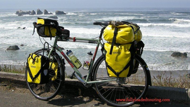 347    Doug - Touring Oregon - Bianchi Volpe touring bike