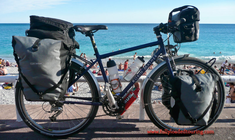 361    Jeanette - Touring France - Robin Mather Touring touring bike