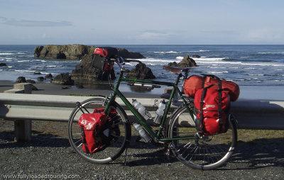 291  Rich - Touring Oregon - Cannondale T2000 touring bike