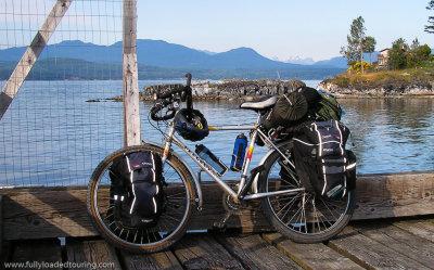 298  John - Touring British Columbia - Peugeot Crazy Horse touring bike