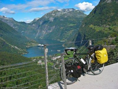 308   Andrew - Touring Norway - Hewitt Cheviot touring bike