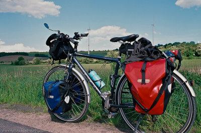 312   Namhyung - Touring Germany - Stevens Primera Lite touring bike