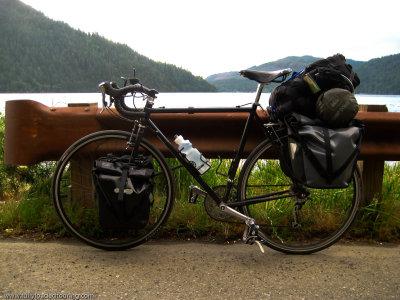 322   Morgan - Touring Washington - Surly Cross Check touring bike