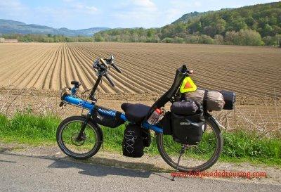 345    Ian - Touring Scotland - Bacchetta Giro 20 touring bike