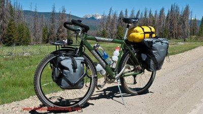 346    Ron - Touring Colorado - Novara Safari touring bike