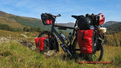349    Sander - Touring Scotland - Koga Miyata World Traveller touring bike