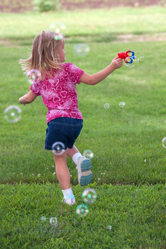 Running from Bubbles