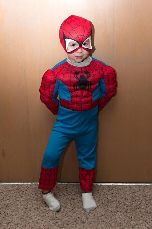 Spiderman Lucas!