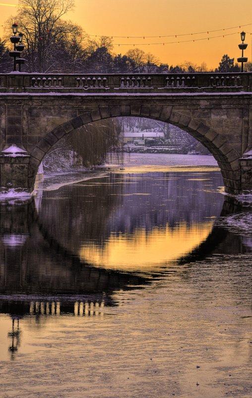 welsh bridge archway