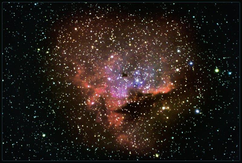 NGC  281  THE PACMAN
